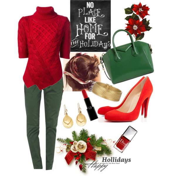 """Christmas at Home"" by veradediamant on Polyvore"