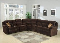 Tracey 3-Piece Transitional Sectional with Queen Sofa Bed and Reclining Love Seat with Storage Con N270-TRACEY-3PC-SECTIONAL