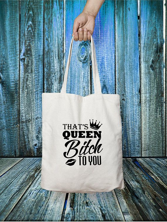 Queen Bitch Tote Bag #Queen #Tote #Bitch #Bag #Bitchy #ToteBag #Sweary #Bags #Bitches #GiftForHer #BitchyGift #QueenBag #CanvasToteBag #gift #gifts #etsy #etsyuk #etsyseller #etsyukseller #etsygift #handmade #etsyshop #giftideas #giftidea #giftguide