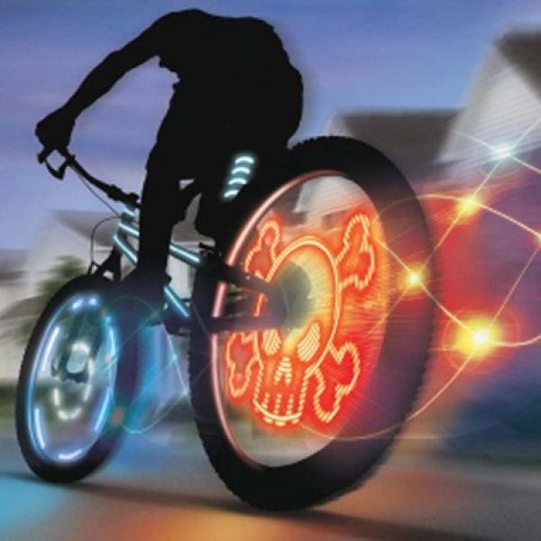 Meon Bike FX (Triple Pack) - Wheel Writer, Gyro Flasher and Light Striper: Image 01