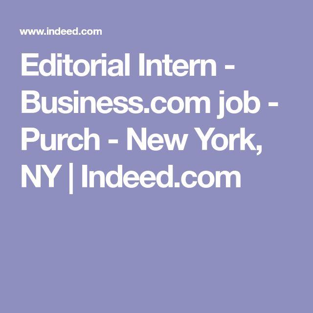 Editorial Intern  BusinessCom Job  Purch  New York Ny
