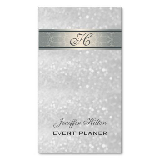 12 best Event Planner Business Cards images on Pinterest - event card template