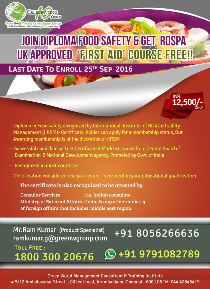 Food Safety Consultant Cover Letter - sarahepps.com -