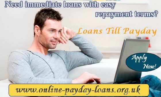 Loans till payday are instant collateral free loans which can satisfy your momentary financial needs. These loans can be paid back on the next payday of the borrower. These short-term loans can be used multi-purposely.
