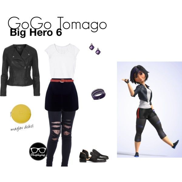 big hero 6 casual cosplay - Google Search