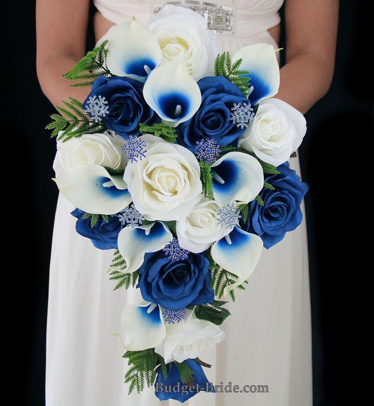 Winter theme wedding flowers