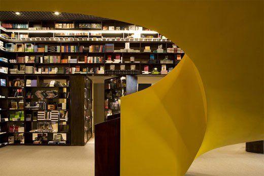 Livraria da Vila Unique Bookstore Design by Isay Weinfeild | KARMATRENDZ