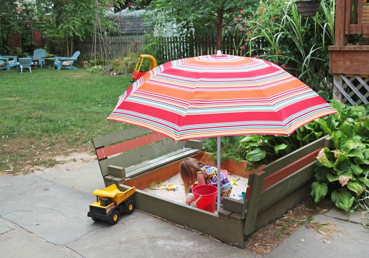 Built-in-Bench Sand Box