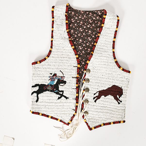 Mens Native American Beads: 172 Best Beaded Vests Images On Pinterest