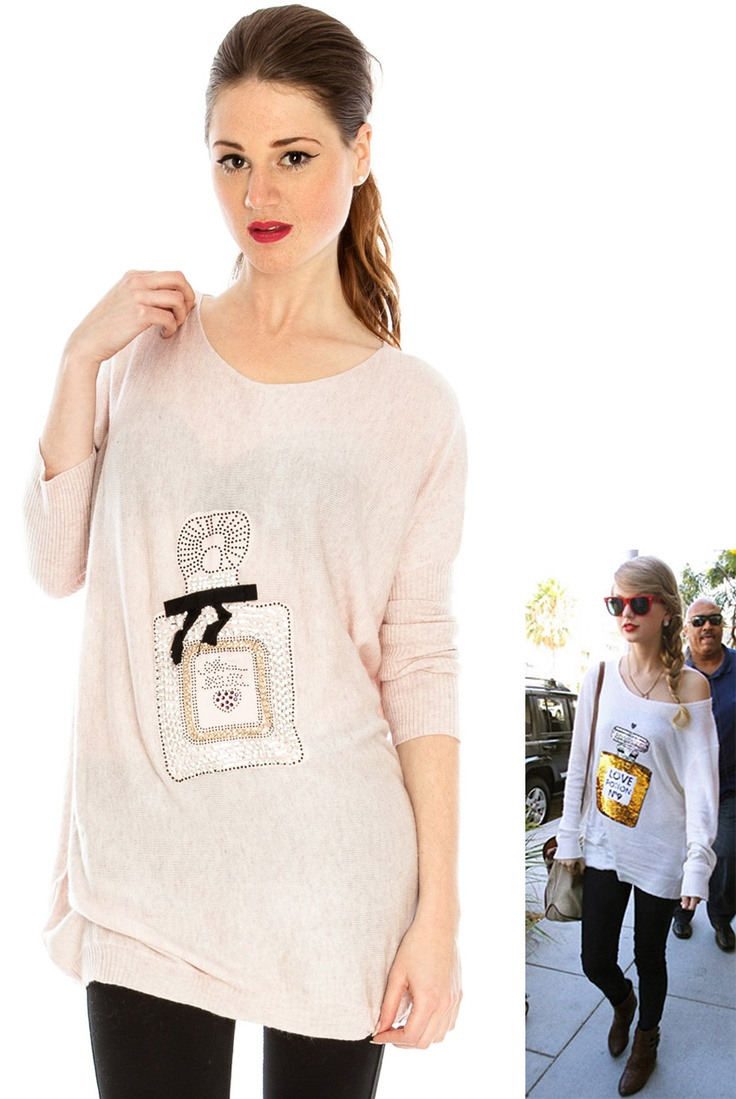 Perfume jumper Taylor Swift