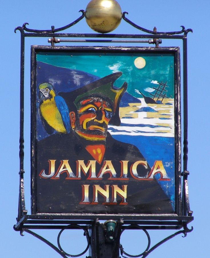 The Jamaica Inn sign - Altarnun, Cornwall - a Tablet Hotel