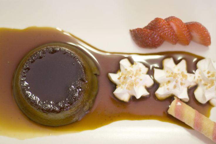 Pudín casero de chocolate y café www.restauranteespadana.es