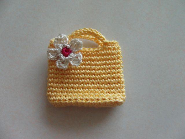 ミニチュアバッグの作り方 編み物 編み物・手芸・ソーイング ハンドメイド・手芸レシピならアトリエ