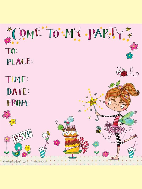 11 best party images on pinterest invites john lewis and pretty party invites with fairy and cakes by rachel ellen designs stopboris Image collections