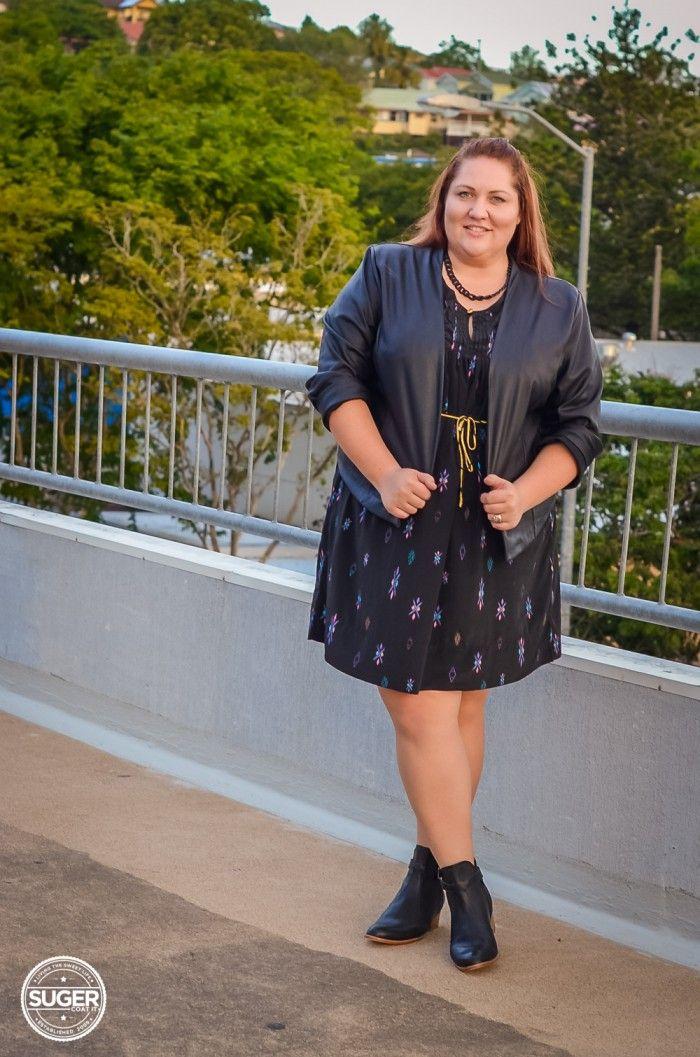 Suger Coat It | My new favourite afternoon at the pub outfit | http://sugercoatit.com #plus #size #fashion #blog #australia #blogger #17sundays #ashleystewart #baredfootwear