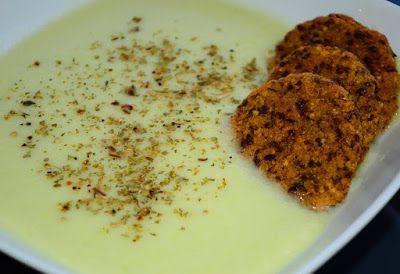 Cukkinikrém-főzelék köles fasírttal