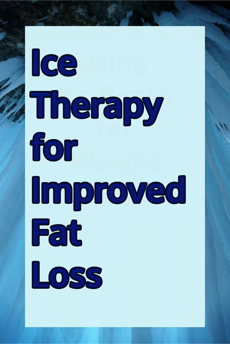 Ice packs for weight loss cold thermogenesis pinterest lost ice therapy for improved fat loss following a cold thermogenesis protcol can help you to fandeluxe Images