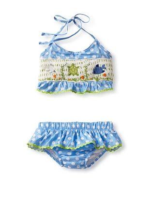 66% OFF Viva La Fete Kid's Ocean Sunsuit (Royal Blue)