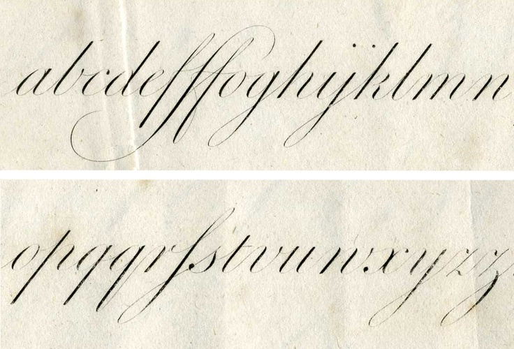 Best images about copperplate calligraphy on pinterest