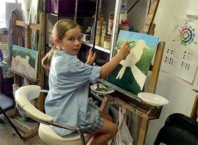 #kidsartclasses are starting up again soon for term 3, enrolments open now. #kidsdrawingclasses #childrensartclasses #drawingclassesforkids #paintingclassesforkids #portmelbournestudio