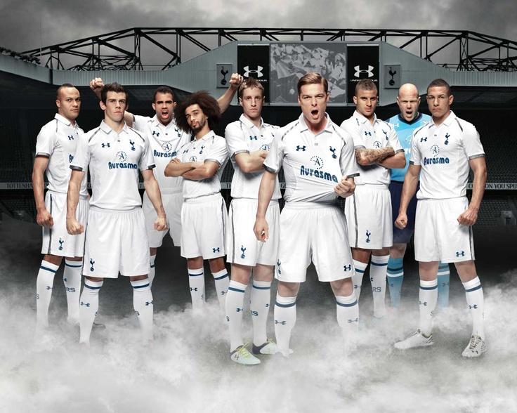 The team. Spurs-Norwich 1-1 (1.9.2012)