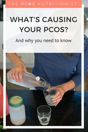 What causes PCOS? While genes predispose us to PCOS, our environment can turn those genes on and off. So things like diet, stress, environmental toxins and the contraceptive pill are all environmental factors that can turn these genes off. Click the link to read more and download my guide of what tests to ask your doctor to find out your cause.