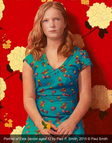 BP Portrait Award 2015 - Exhibition, portrait of Esta Sexton by Paul P. Smith
