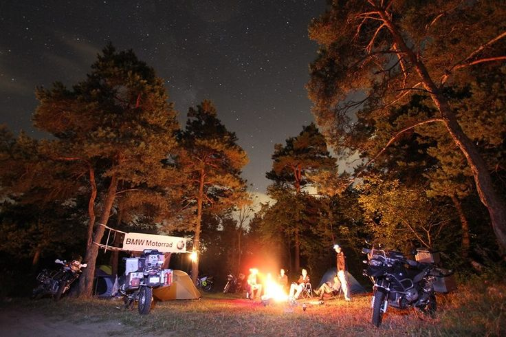 BMW Motorrad days, Camping with friends