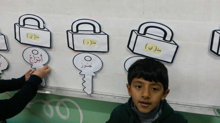 استراتيجية القفل والمفتاح لطلاب صف أول 3 بمدارس منار السبيل أ سامح صل School Worksheets Arabic Alphabet Letters Alphabet