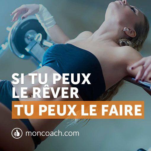 Devenez la personne de vos rêves #motivation #inspiration #quote Conseils fitness : http://blog.moncoach.com/