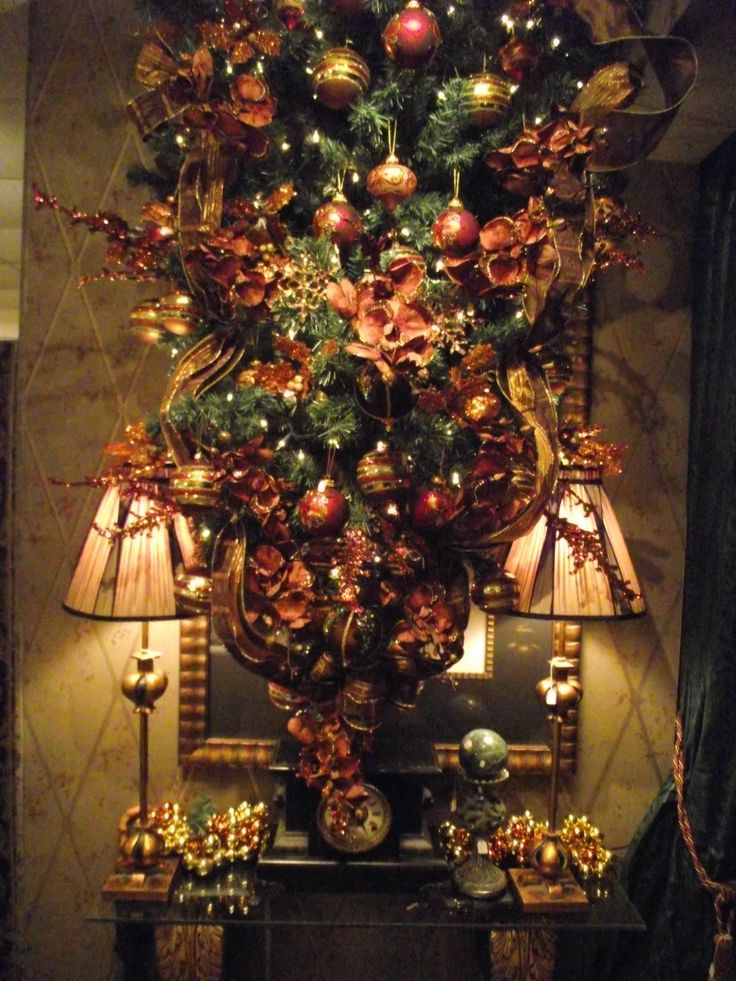 184 Best Images About Christmas Bronze Copper Browns On