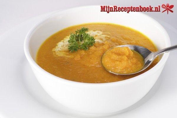 Wortel/pastinaaksoep met gember recept