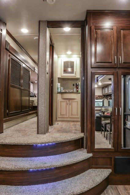 44 best 5th wheels images on pinterest rv life rv - Infinity fifth wheel front living room ...