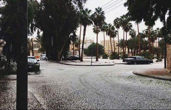 Η ΜΟΝΑΞΙΑ ΤΗΣ ΑΛΗΘΕΙΑΣ: Πρωτοφανείς χιονοπτώσεις στη Σαουδική Αραβία