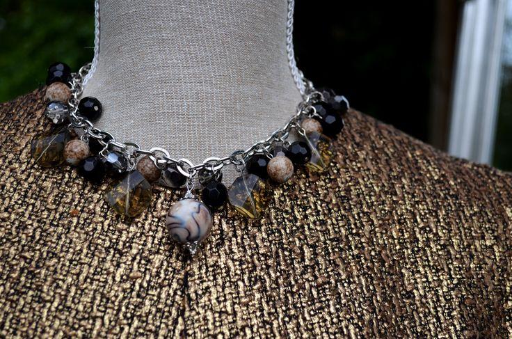 Forever Unique dress £165, necklace £25