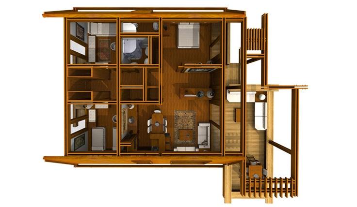 13 best casa in legno pagano images on pinterest log - Case moderne da sogno ...