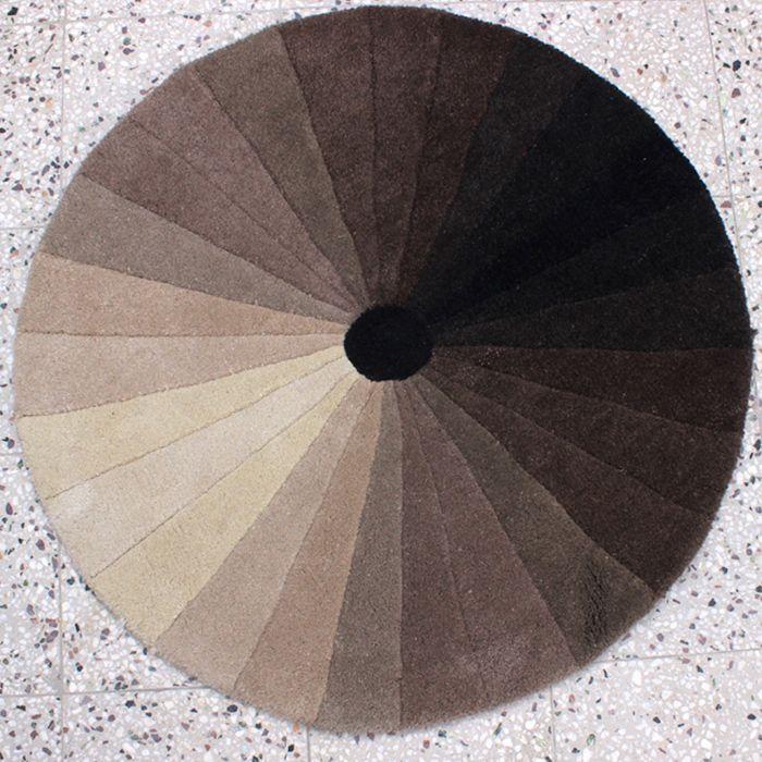 Modern squisito Tufte a mano Tappeti 750190 X 90 CM ( 3'X3′ ) | Arts of India – Italy