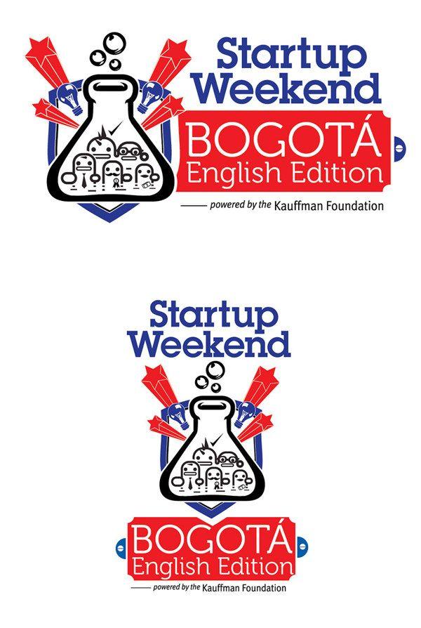 STARTUP WEEKEND BOGOTÁ, ENGLISH EDITION by Elbis Estid Bonilla Bonilla, via Behance