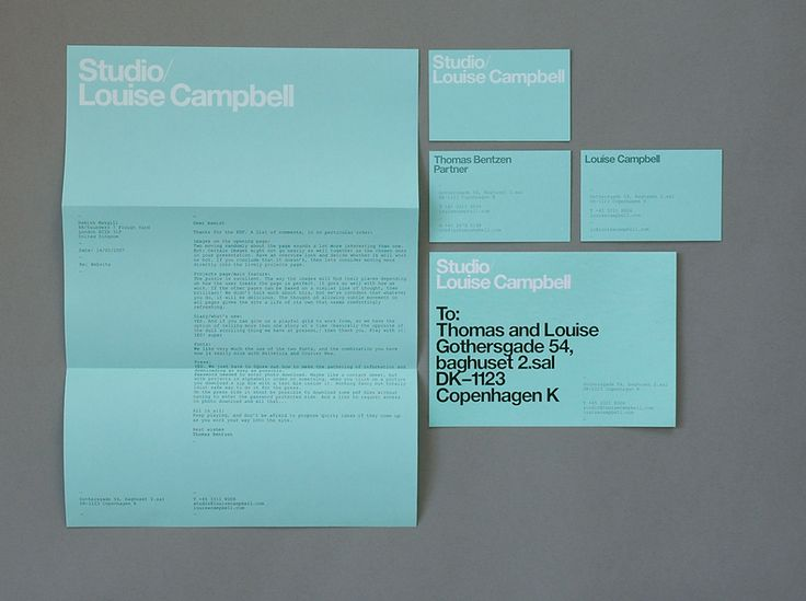Branding - Louise Campbell