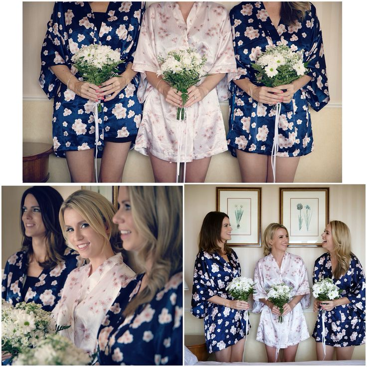 The bridal party - loved getting ready in these gorgeous kimonos. Super comfy and made for some very sweet photos with my sisters!
