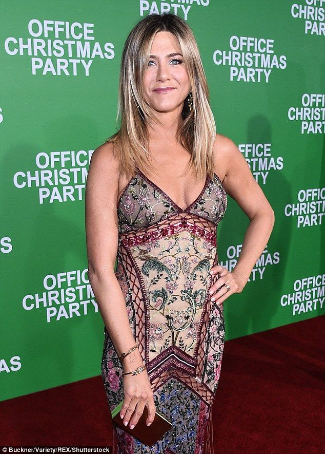 Not good: Jennifer Aniston's new movie Office Christmas Party is described by Rolling Ston...
