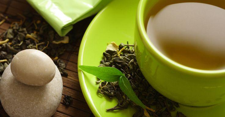 Cosa c'è in una tazza di tè verde
