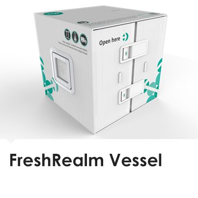 FreshRealm Vessel promises faster, more sustainable fresh food delivery from grower to consumer with less wastage.