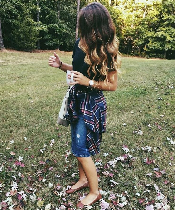 Modest but classy skirt outfits ideas suitable for fall 01
