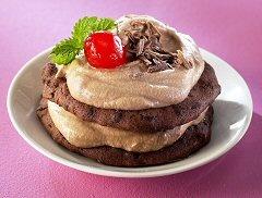Suklaa Cookiesleivokset tai -kakku