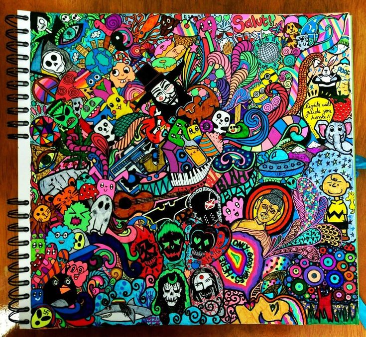 #doodle #cartoon #coldplay #trippy #movies #suicidesquad #colours