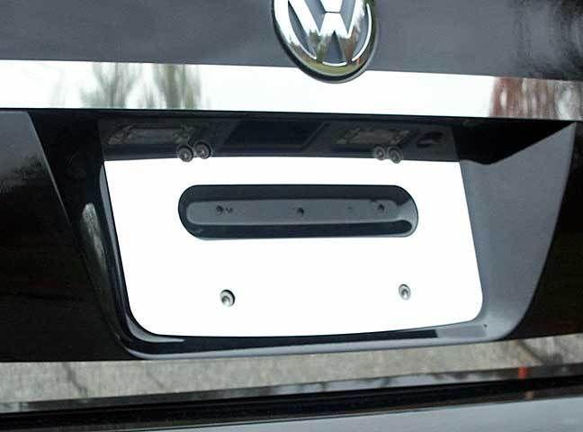 Volkswagen Jetta 2005-2010 4DR License Plate Trim STAINLESS STEEL 1PC LP25665 #QAA