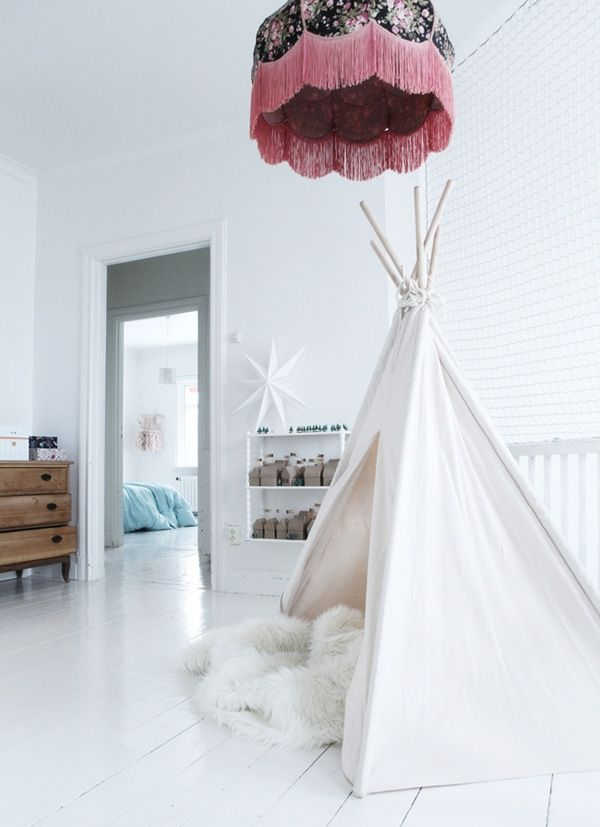 Rooms We Heart: rooms for kids with tipis| We Heart Home