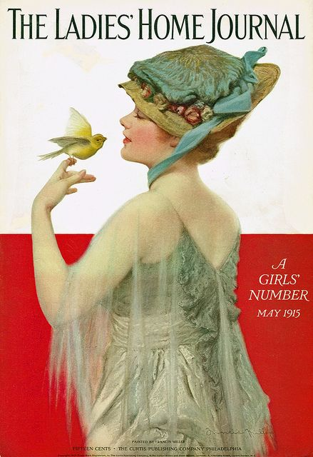 Ladies' Home Journal cover by Francis Miller May 1915