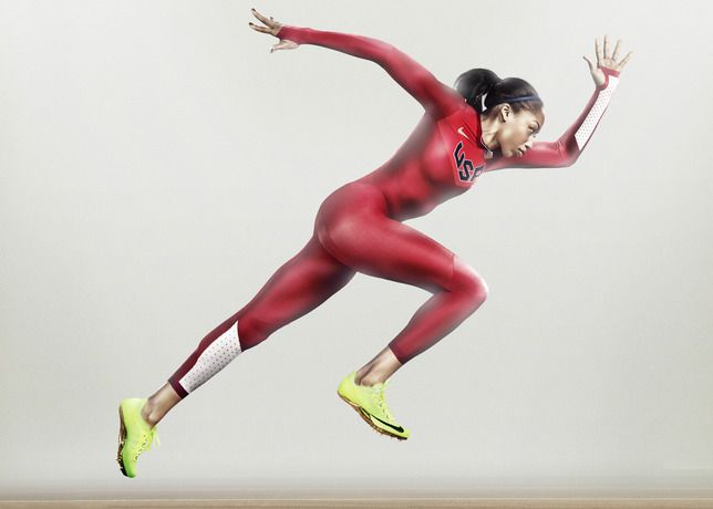 NIKE - Performance, aesthetics and sustainability merge for USA Track and Field uniforms
